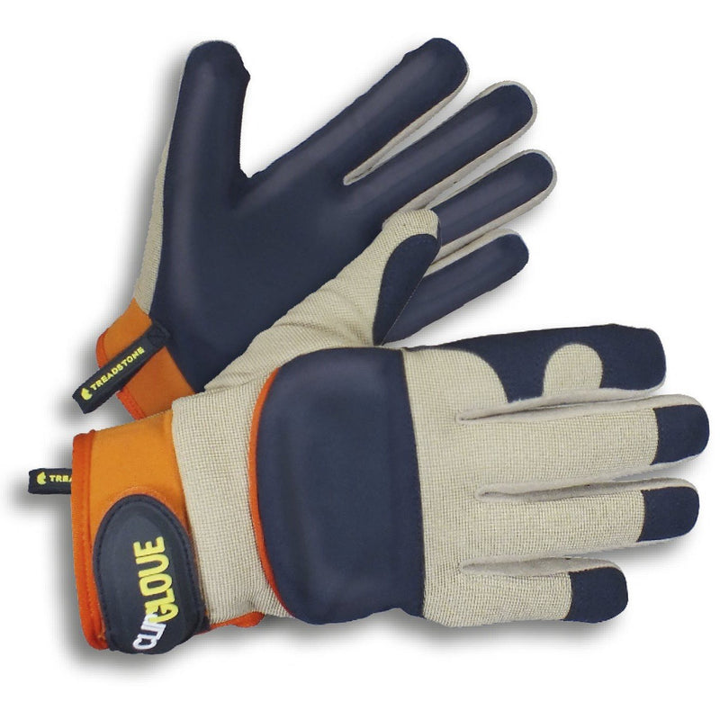 Clip Glove LEATHER PALM - Men's Gardening Gloves - Medium Duty