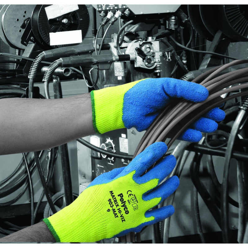 Polyco Matrix Hi-Viz Gloves