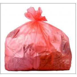 Laundry Bags Red With Dissolving Strip (80L) - RSB/4