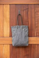 The Reversible Alie Bag - Slate with Paint by Numbers Artist print