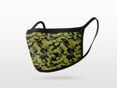 FACE MASK - 3 PACK - CAMO