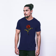 THE LETHAL ROSE - NAVY