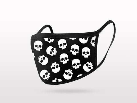 FACE MASK - 3 PACK - SKULLS COLLECTION 2