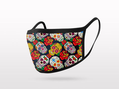 FACE MASK - 3 PACK - SKULLS COLLECTION 1