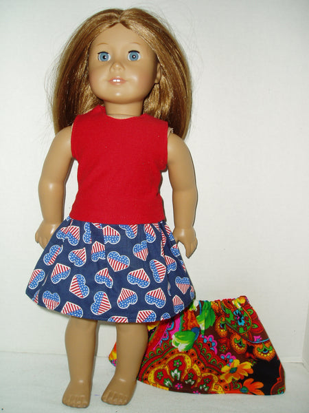 3 pc mix and match outfit fits American girl dolls