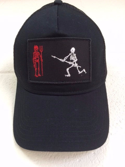 Skeleton Trucker Hat