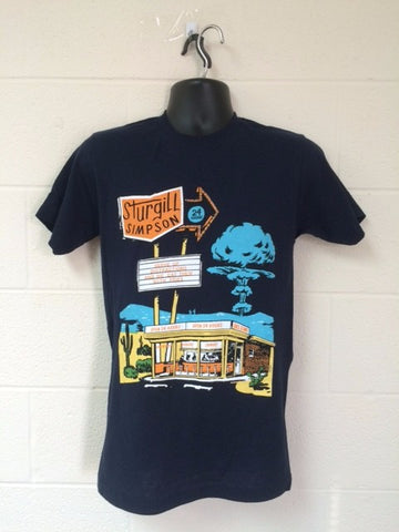 """Call to Arms"" Diner Tee"