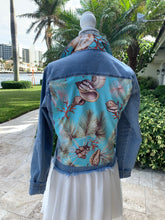 The Light Denim Jacket / Tropical Shells