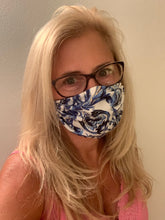 Face Mask Multi Blues