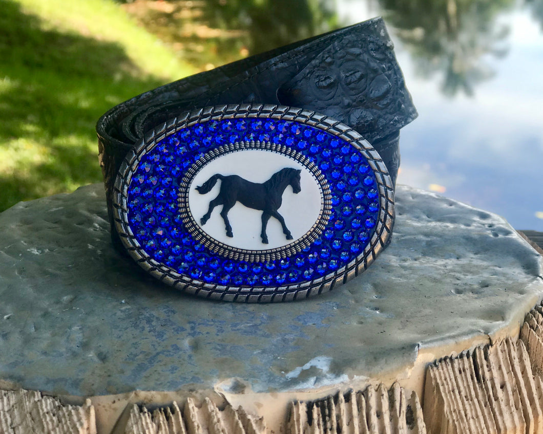 The Cameo Lacey Horse Sapphire/Small