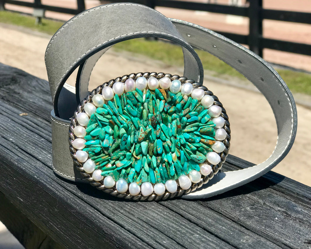 The Stoned Turquoise and Pearls