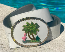 The Tropical Lilly on Leather