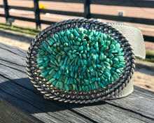 The Stoned Turquoise and Black Diamond XL