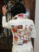 The White Denim Jacket / Eclectic Designer