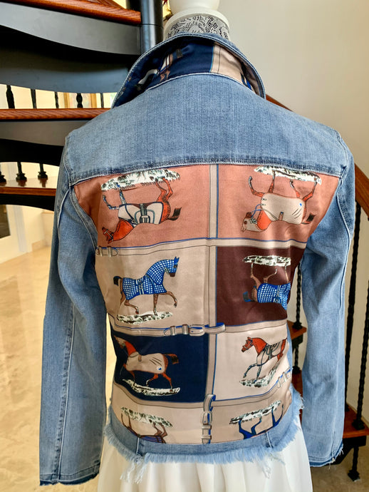 The Light Denim Jacket / Designer Horse