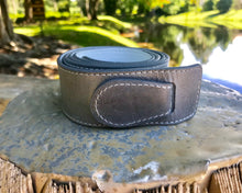 Reversible White and Gray belt.