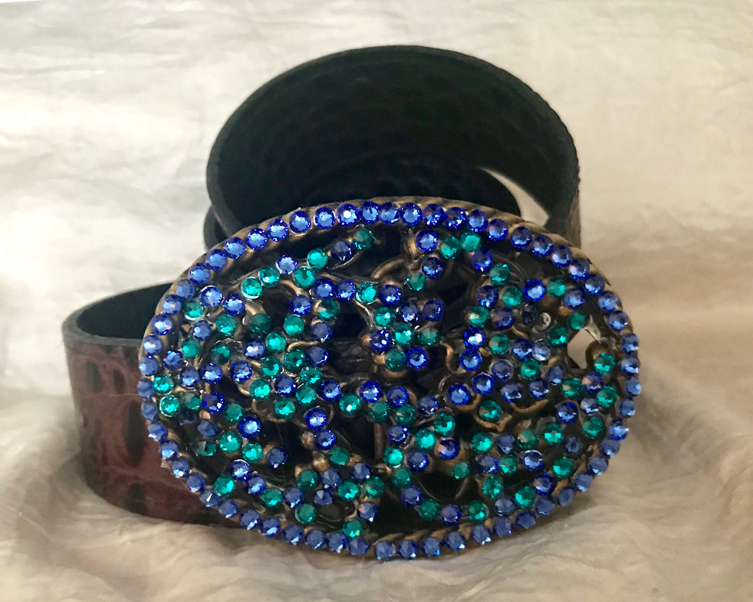 The Bling it On Sapphire and Teal