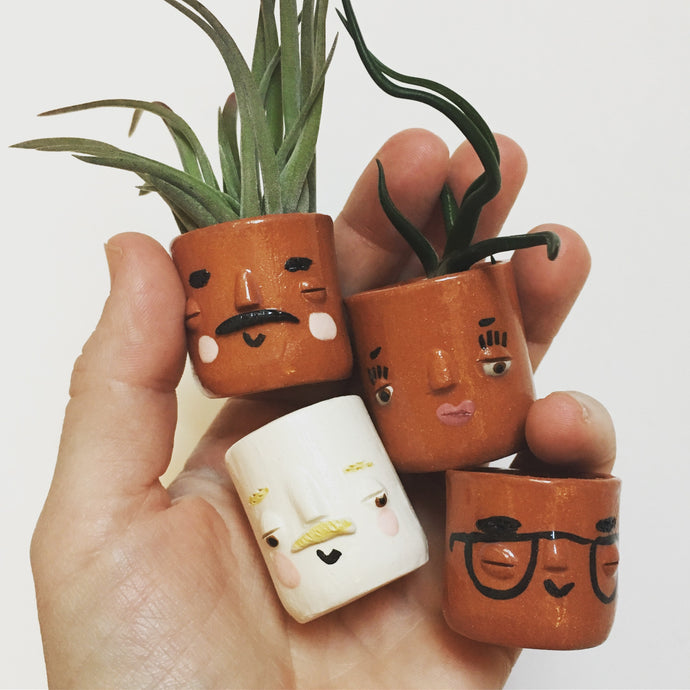 Mini Ceramic Pots