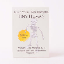 Build-your-own Tiny Human Skeleton