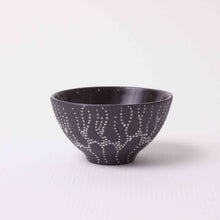 Small Cup Dark Clay w/ Dots