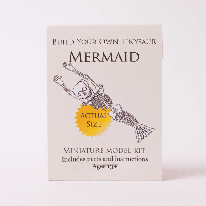 Build-your-own Mermaid Skeleton