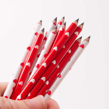 Mini Heart Pencils