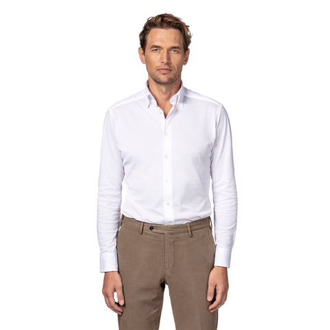 Slim Fit Piqué Shirt