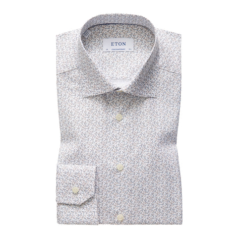Contemporary Fit Floral Dress Shirt