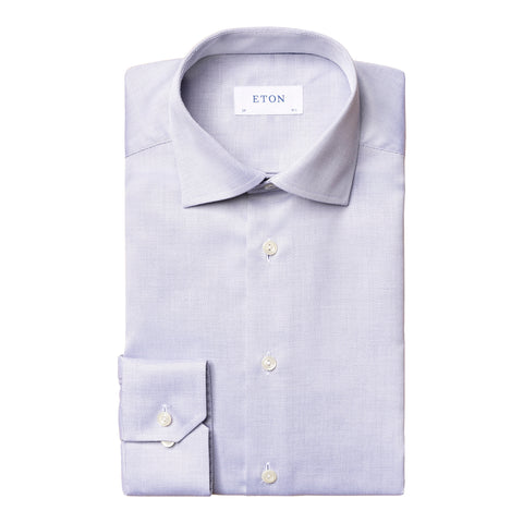 Contemporary Fit Diamond Weave Shirt