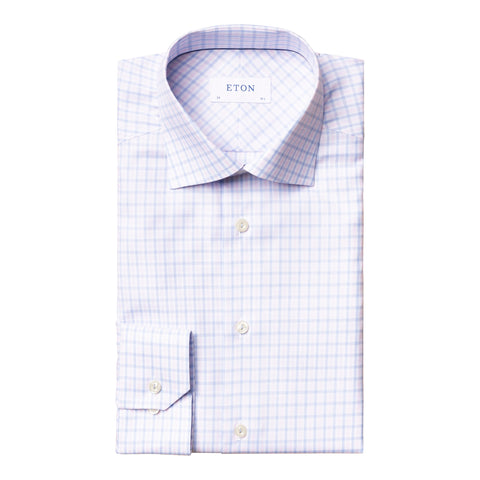 Contemporary Fit Cotton-Tencel Dress Shirt