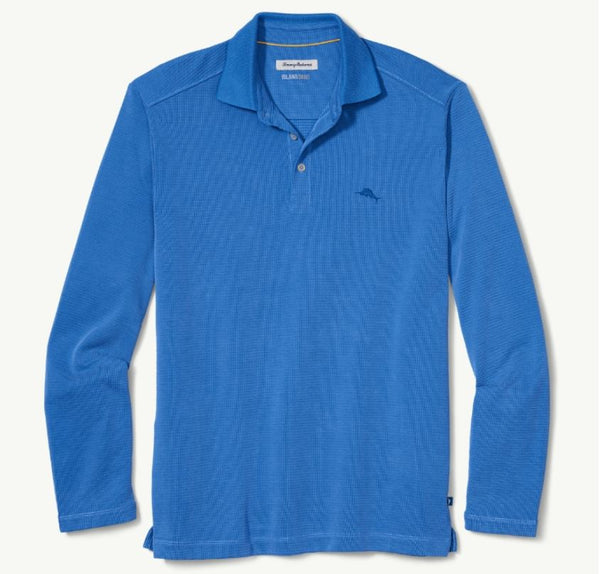 Tommy Bahama Long Sleeve Coastal Crest Polo