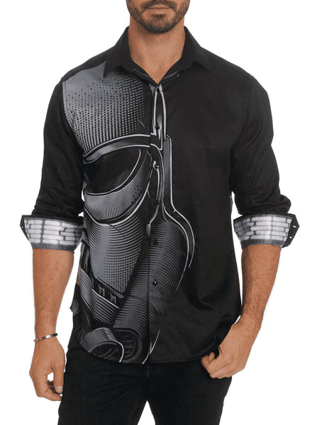 Lord Vader Long Sleeve Sport Shirt