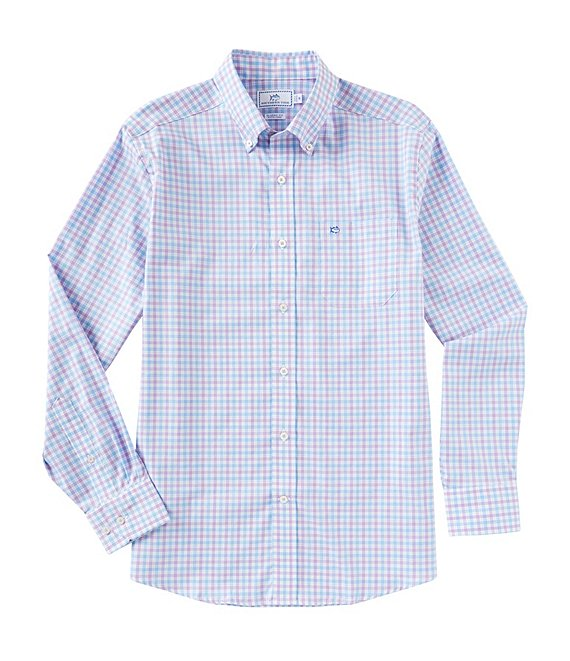 Southern Tide Seaward Regular Fit Plaid Button Down