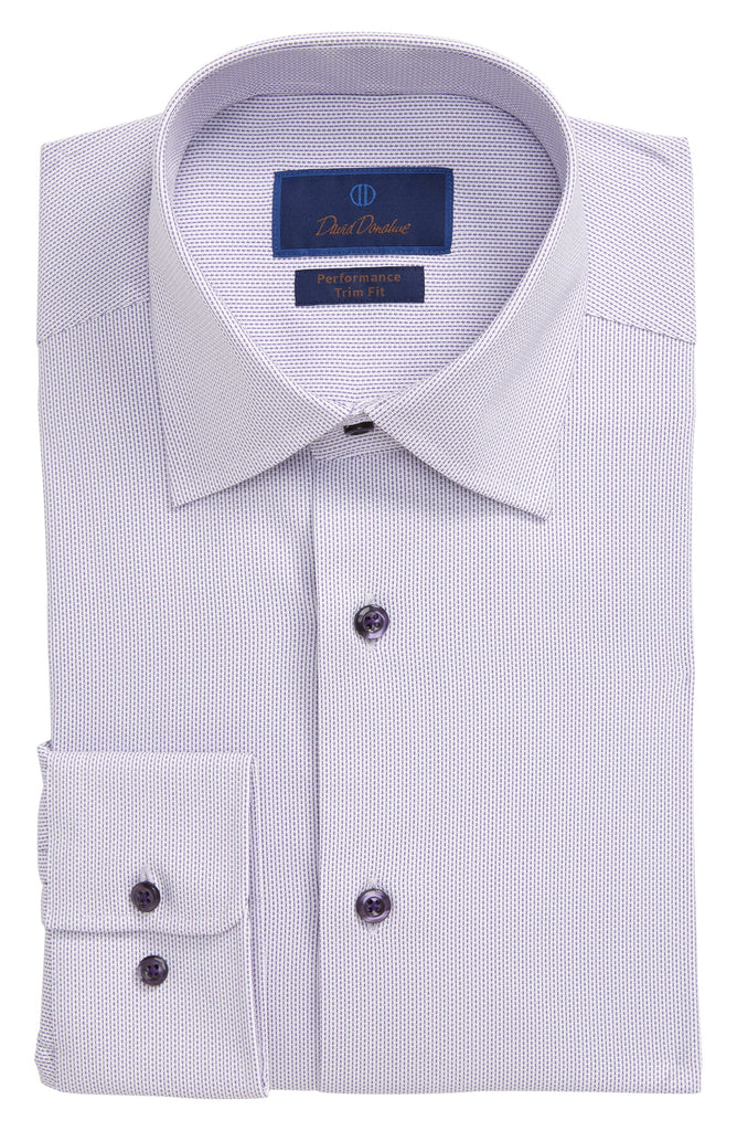 Tonal Dobby Performance Dress Shirt