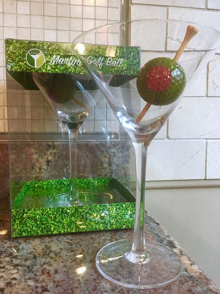 The Martini Golf Ball