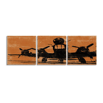 airplane wall art panels