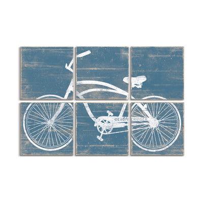 beach cruiser bike art