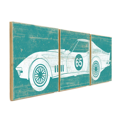 corvette wall decor