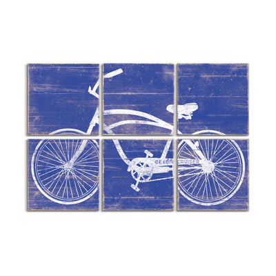 large bicycle art