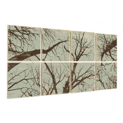 large forest multi panel wall art