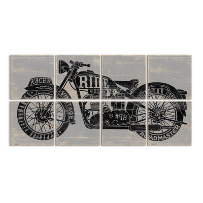large motorcycle art