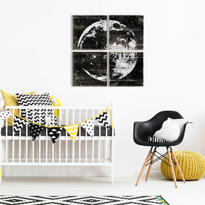 moon wall art nursery