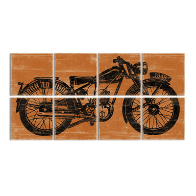 motorcycle bedroom decor