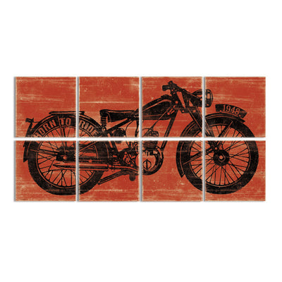 motorcycle decor