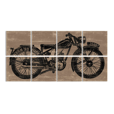 motorcycle home decor