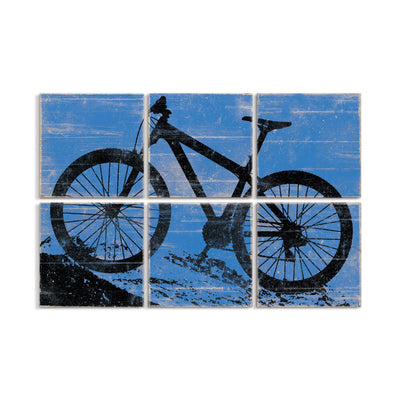 mountain bike art by right grain