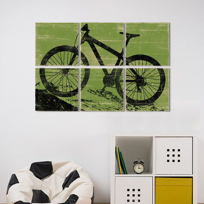 mountain bike wall art