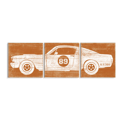 race car nursery decor