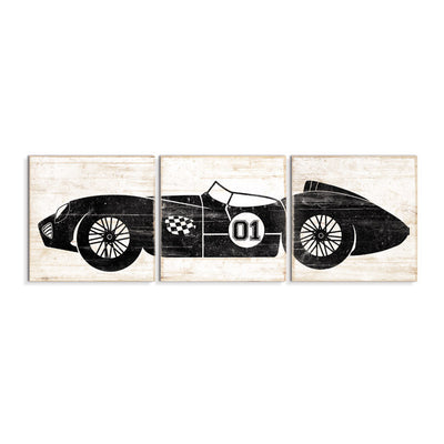 race car wall art