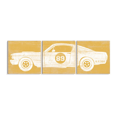 race car wall decor